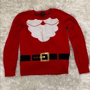 Children's ugly Christmas sweater Santa costume
